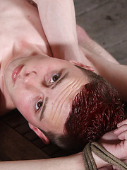 Innocent Aiden Jason is perfect for ass hungry Ashton Bradley to use and abuse