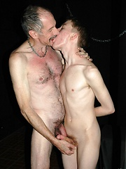 Grandpa having a hot twink hole to plow