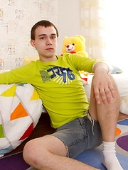 Straight teen wanking - Timmy gets off!