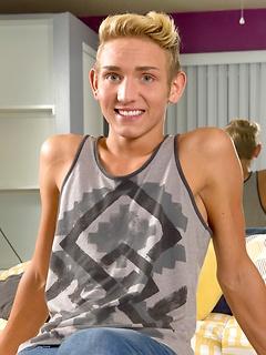 teen gay boy model Dylan Hall